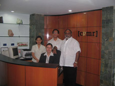 The offices of CVMR® in Manila, Philippines