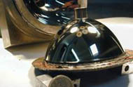 Convex domed mirror made by the CVMR® process, used in a 360° camera