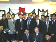 Jinchuan trainees at CVMR® in Canada