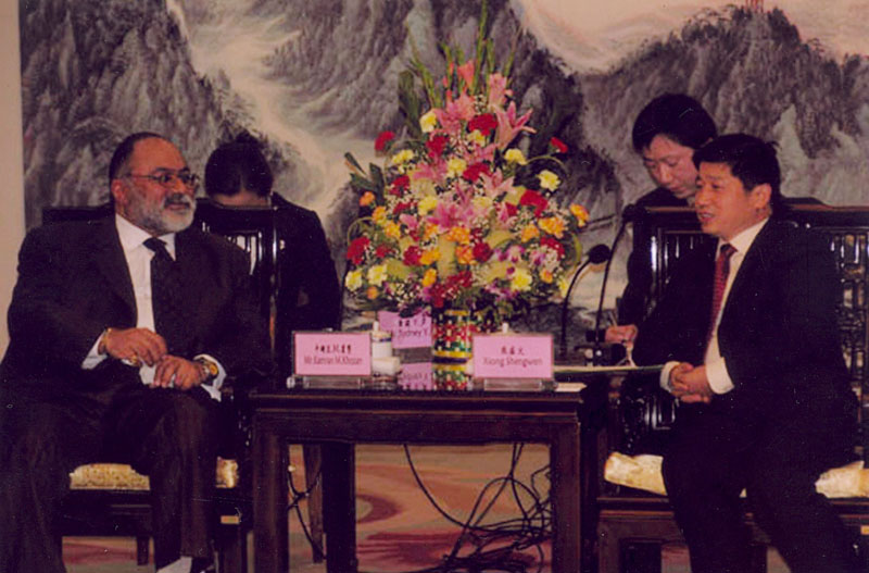 Kamran Khozan's third meeting with the govenor of Jiangxi Province