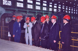 CVMR® Executives visiting Jiangxi Copper Refinery